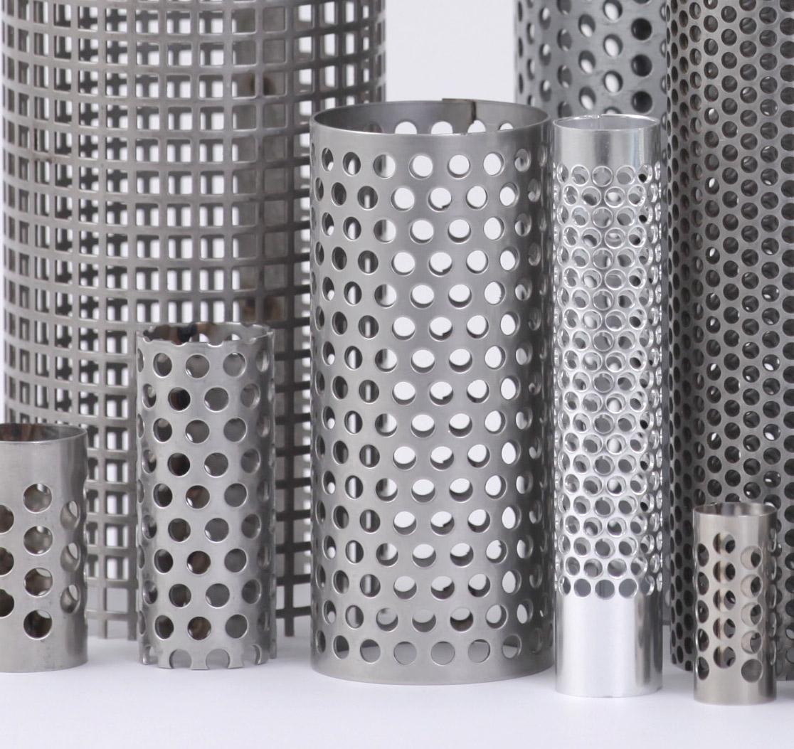 Prodotti filtri l p s lamiere perforate speciali for Lps lamiere forate