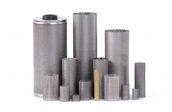 Expanded metal  filters