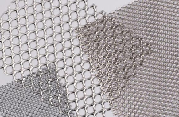 Expanded Round Pattern Mesh